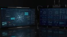 FUI ECHO - Screen Graphics / Fantasy User Interface