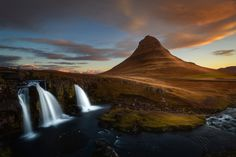 ▼ ▼  << Let us connect on Fotographee or Facebook >> __________________________________________________  My take on one of the most iconic waterfall in Iceland - Kirkjufellsfoss  The only regret I have was I didn't have my ND16 filter with me :(  Have a great day and thanks for viewing!! :))