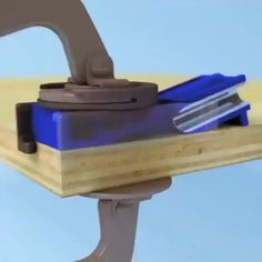Woodworking Jig Plans, Woodworking Techniques, Woodworking Crafts, Homemade Tools, Diy Tools, Diy Table Saw, Diy Home Repair, Into The Woods, Wood Crafts