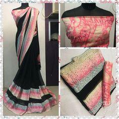 Indian Bollywood Saree Lengha Ethnic Pakistani Designer Sari Wedding sari SUM #Unbranded #BollywoodSaree