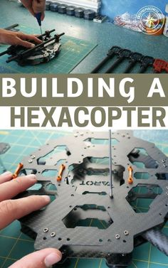 Building a Hexacopter - Drones - Ideas of Drones - Building a Hexacopter The drone is a powerful tool. We are only beginning to understand what is possible with a drone. That is because this tech is in its infancy. Buy Drone, Drone For Sale, Drone Diy, Small Drones, Latest Drone, Remote Control Drone, Flying Drones, Drone Technology, Drone Quadcopter