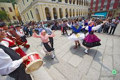 Portuguese Folk Dance in Macau by Antonio D'Albore on 500px. Love the purple costume on the right!!