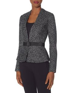 Belted Peplum Jacket from THELIMITED.com  I love the Scandal Collection!