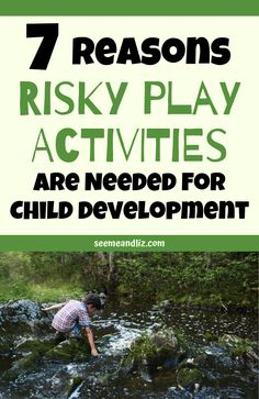 """Risky play in the early years was never something that would come up in conversation for past generations. Now there are researchers actually studying """"risky play"""" and how beneficial it is for. Play Based Learning, Learning Through Play, Kids Learning, Parenting Memes, Parenting Advice, Kids And Parenting, Infant Activities, Learning Activities, Activities For Kids"""