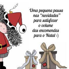 3º teaser: ilustração com tema do Natal.