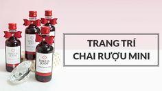 Hướng dẫn Trang Trí Chai Rượu Mini Handmade Xem chi tiết: http://huongdanhandmade.com/trang-tri-chai-ruou-mini/