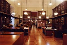 Sala Cervantes  Biblioteca Nacional de España   en Madrid