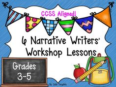 teaching narrative writing 4th grade This lesson plan will guide 4th grade students step-by-step through writing a common core narrative it comes with specific vocabulary phrases and words that align with the common core standards.