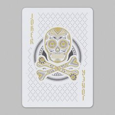 #Joker featured in Muertos #playingcards.