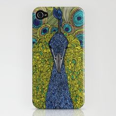 Mr. Pavo Real iPhone case -- this might be one of the prettiest iPhone cases I've ever seen