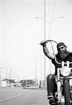 biker, cool picture framing