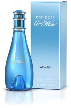 My first perfume, back in the day. Davidoff Cool Water Woman