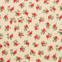 peach cotton fabric with small geometric flower - Google Search