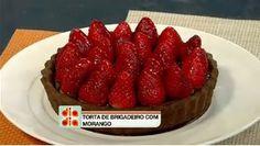 Aprenda a preparar um bolo de chocolate com brigadeiro e morango light - TV UOL