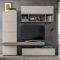 Minimalist, elegant 'Miley' TV Unit. Simple and sophisticated, contemporary and modern. My Italian Living.