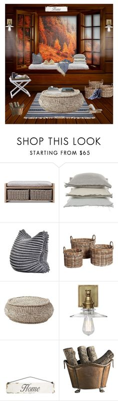 """Reading Nook"" by libbylu116-1 ❤ liked on Polyvore featuring interior, interiors, interior design, home, home decor, interior decorating, Garden Trading, V Rugs & Home, Hübsch and Emerson"