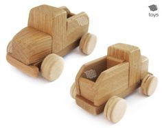 Removable Dump Truck wood natural toy