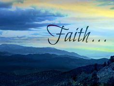 My Faith gives me Hope and for that I am Grateful!