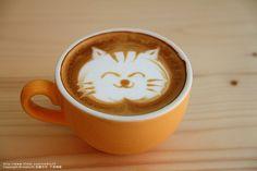 Un café con mucho arte!!