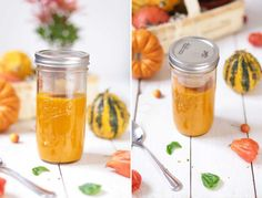 Pumpkin Soup - Ball Mason Jar | Regular | 700 ml (24 oz) // Kürbissuppe im Ball Mason Glas