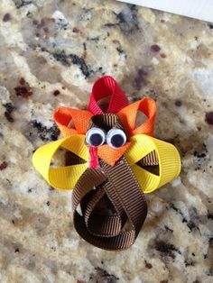 Hey, I found this really awesome Etsy listing at http://www.etsy.com/listing/111035436/thanksgiving-turkey-hair-bow