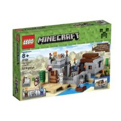 Recreate your Minecraft headquarters with the LEGO 21121 Minecraft The Desert Outpost Set. Hostile mobs are spawning like never before and the desert is becoming a very scary place to be, it's time to build The Desert Outpost. Lego Minecraft, Minecraft Party, Minecraft Skins, Minecraft Buildings, Lego Friends, Legos, Desert Biome, Figurine Lego, Lookout Tower