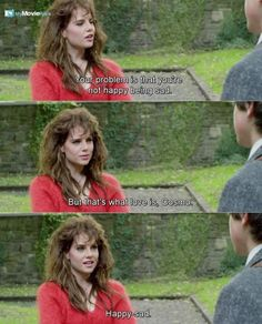 Your problem is that you re not happy being sad But that s w - Sing Street - Buzz Sing Street Movie, Sing Street 2016, Series Movies, Film Movie, 80s Movies, Movies Showing, Movies And Tv Shows, Street Quotes, Recent Movies