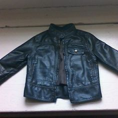 Toddler Jacket Faux Leather size 2t brown. Worn twice. Jackets & Coats