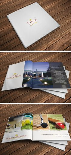 Square brochure - luxury apartments