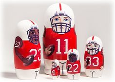 Red Football Doll 5pc./6 for only $36.00 You save: $4.00 (10%)