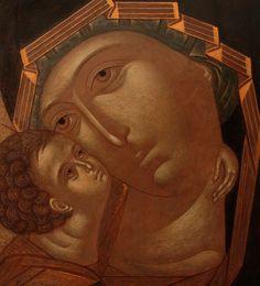 Mary And Jesus, Orthodox Icons, Sacred Art, Religious Art, Madonna, Marvel, Statue, Artist, Painting
