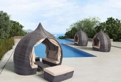 Outdoor DayBed | Stylish Outdoor Wicker Furniture