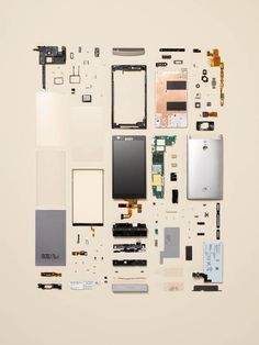 """""""Things Come Apart / Disassembly"""" project by artist photographer Todd McLellan"""