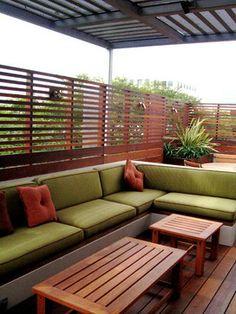 Contemporary Penthouse Rooftop Garden - Santa Monica