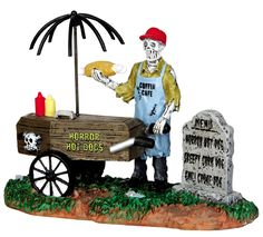 Austin's Newest Food Truck - A ghoulish hot dog vendor from the Coffin Cafe. Available at Michael's.