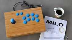 Arcade sticks are the best way to play a lot of different games, and making your own is a lot easier than you'd think. The problem generally is making a good case for the buttons and knobs. DIYer Fredrik Setterberg made that out of some IKEA parts.
