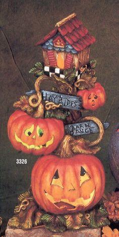 FALLANDHALLOWEEN Country Halloween, Halloween Wood Crafts, Halloween Cakes, Halloween Art, Halloween Pumpkins, Halloween Decorations, Halloween Living Room, October Crafts, Ceramic Bisque