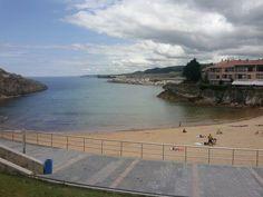 Playa de Llanes, Asturias