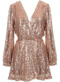 Love this gold dress.