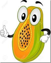 Resultado De Imagen Para Pintar Como Papaya Funny Fruit Apple Clip Art Papaya