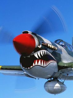 life-is-aviation:Curtiss P-40 Warhawk