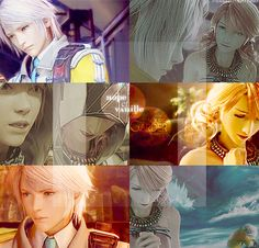 keyblades-and-chocobos:  fyeahhopeestheim:  Hope & Vanille - French  My OTP…