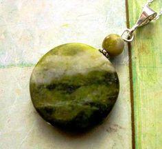 Newest listing: Connemara Marble Pendant. Handmade in Ireland. by HandmadebyAmor, €30.00