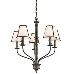 Kichler Lighting Donington Collection 5-light Olde Bronze Chandelier
