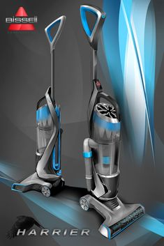 """Bissell Vacuums - Project Harrier """"PowerGlide"""" by Drew Johnson at Coroflot.com"""