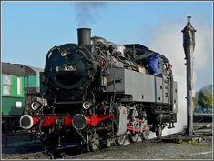 Steam Locomotive 64 250, a German engine built by Henschel/Kassel in 1933.