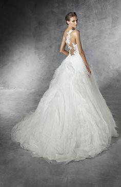 プロノビアス No.82-0007 ウエディングドレス 結婚式
