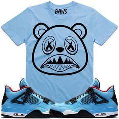 a61876d70c20 BAWS LOGO Sneaker Tees Shirt - Jordan Retro 4 Cactus Jack