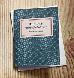 Free, printable Fathers Day cards in the style of Penguin  Books. Pick from 3 designs.