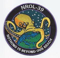 NRO L-39 OCTOPUS ATLAS V USAF SATELLITE MISSION SPACE PATCH